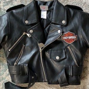 Kids Harley Davidson Leather Jacket